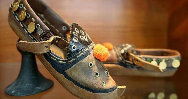 Antika ayakkabılar ilham veriyor