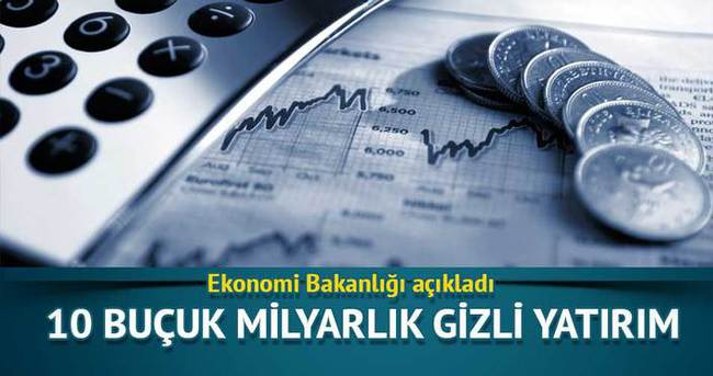 Ekonomi Bakanlığı 10.5 milyarlık yatırımı açıkladı