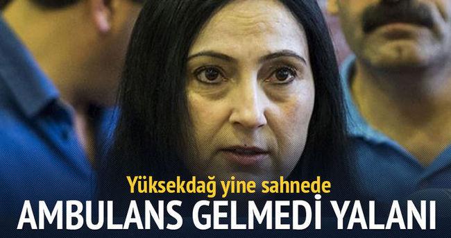 Yüksekdağ'ın Gazdan ölen yaralılar oldu yalanı