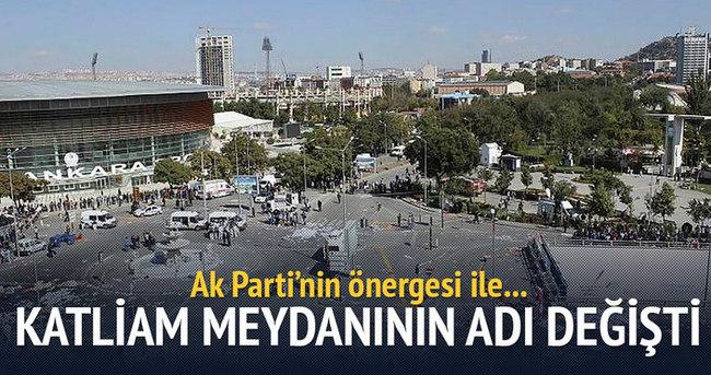 Ak Parti'nin önergesi ile Ankara Gar Meydanı'nın ismi değişti