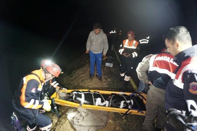 2 Gündür Haber Alınamayan Genç Uçurumda Ölü Bulundu
