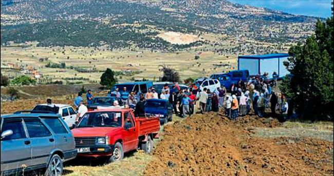 Köyde arazi kavgası