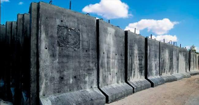 Beton duvarın 11.5 km'si tamam