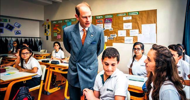 Prens Edward, Türk gençleriyle buluştu