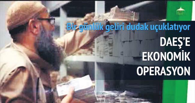 DAEŞ'e ekonomik operasyon