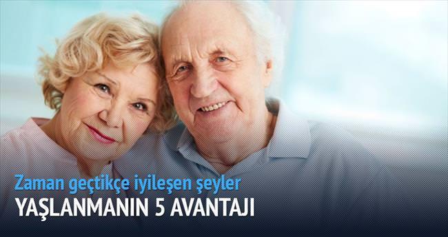 Yaşlılığın 5 avantajı