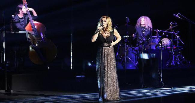 Lara Fabian unutulmaz bir konser verdi