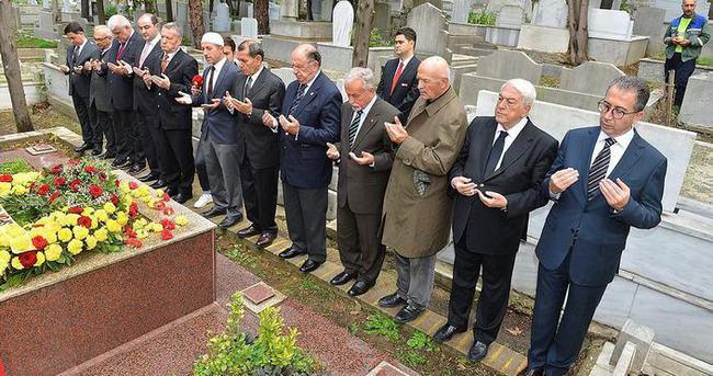Galatasaray'da Ali Sami Yen anıldı