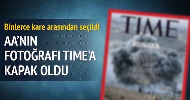AA'nın fotoğrafı TIME'a kapak oldu
