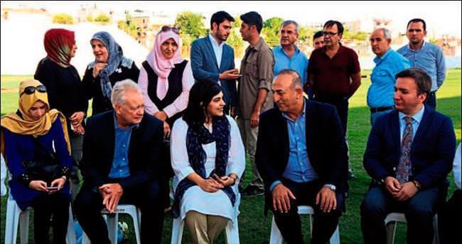 Çavuşoğlu'ya barones desteği