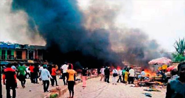 Nijerya'da intihar bombacıları dehşet saçtı: 71 ölü