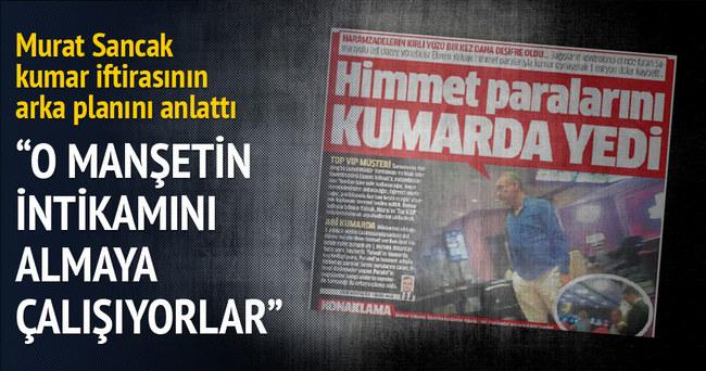 Murat Sancak'a suikasti FETÖ örgütledi
