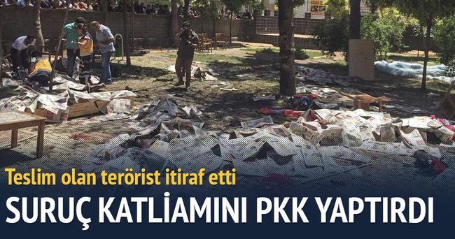 PKK'lı itiraf etti: Suruç katliamını PKK gerçekleştirdi!