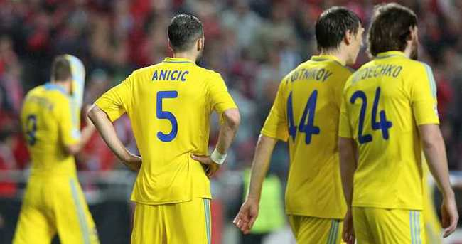 Astana ligde kazandı