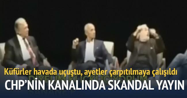CHP'nin kanalında skandal yayın
