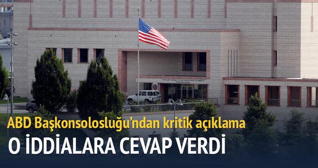 ABD Başkonsolosluğu saldırı uyarısı iddialarını yalanladı