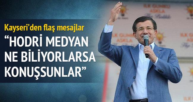 Başbakan Davutoğlu: Bildikleri ne varsa açıklasınlar