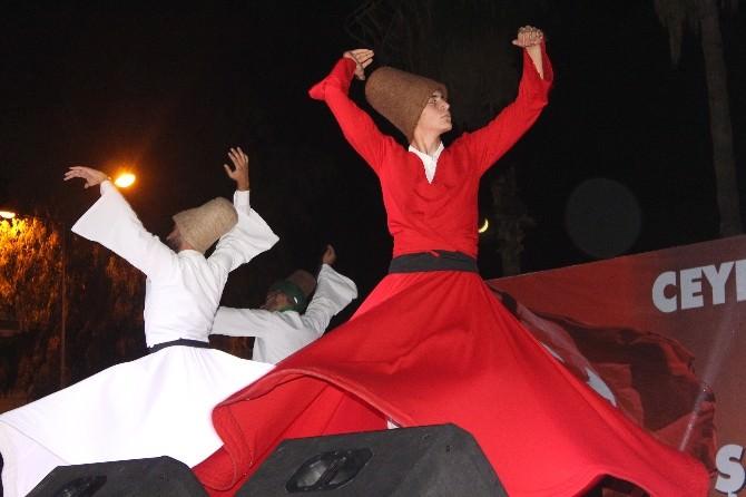 Ceyhan'da Şehitlere Dua Programı Düzenlendi