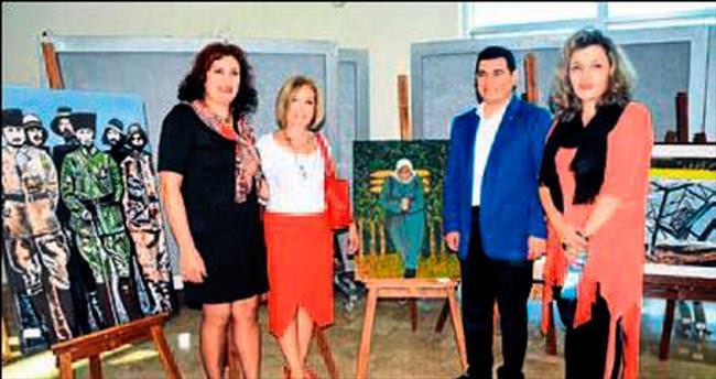 Kepez'de çok özel bir sergi açıldı
