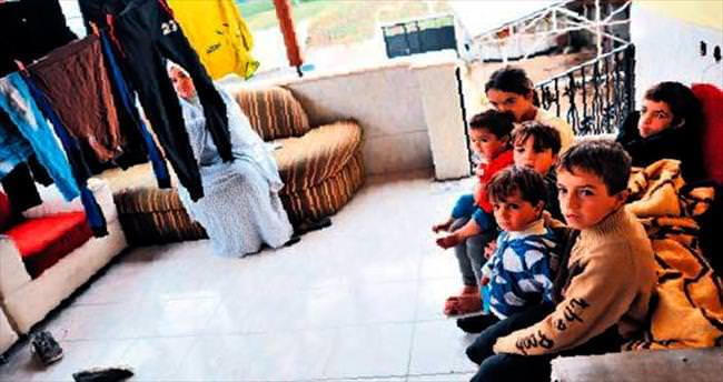 Suriyeli anne 6 çocukla birlikte yaşama tutundu