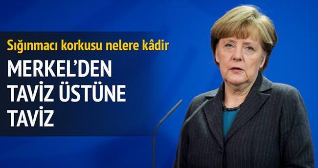 Merkel: Türkiye 'güvenli ülkeler' listesinde yer almalı