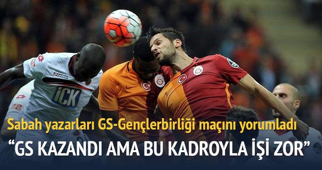 Yazarlar Galatasaray-Gençlerbirliği maçını yorumladı