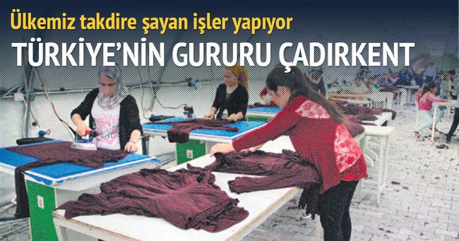 Suruç'taki çadırkent Türkiye'nin gururu