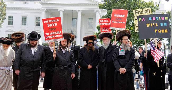 İsrail şiddeti Beyaz Saray önünde protesto edildi
