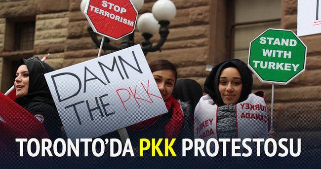 PKK Toronto'da protesto edildi