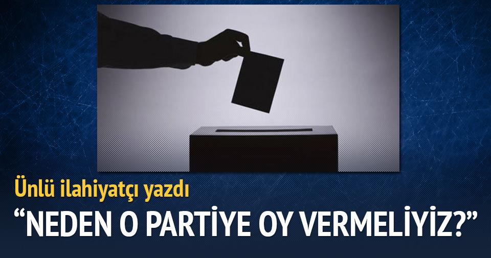 Neden AK Parti'ye oy vermeliyiz?