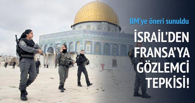 Mescid-i Aksa'ya gözlemci önerisine İsrail'den tepki