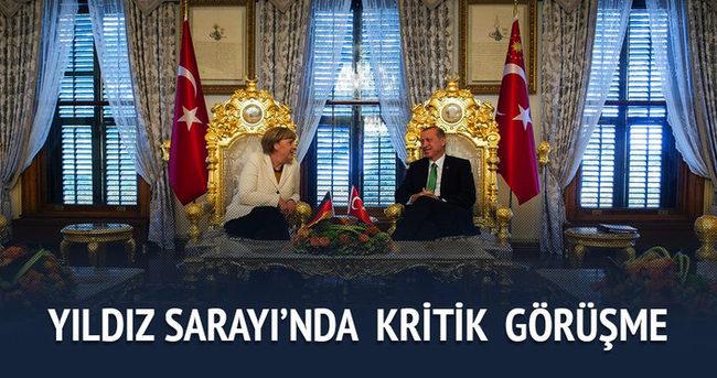 Erdoğan ve Merkel'den ortak açıklama