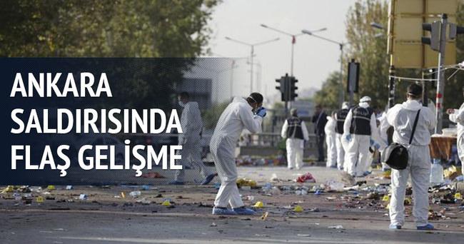 Ankara saldırısında flaş gelişme