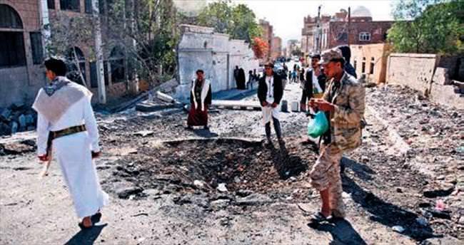 Suudiler yanlışlıkla müttefiki vurdu: 30 ölü