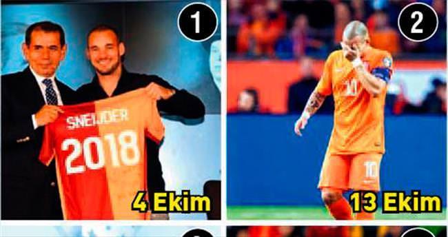 Wesley Sneijder'in günlüğü