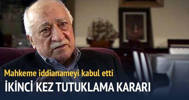 Gülen için ikinci tutuklama kararı