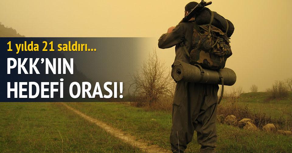 PKK'nın hedefi Dağlıca