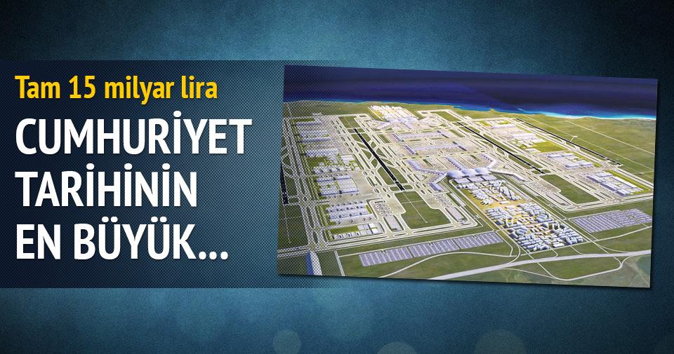 Yeni havalimanı, yerli krediyle uçuşa geçecek