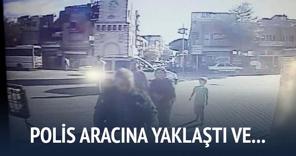 Şanlıurfalı vatandaş, polis aracını öptü