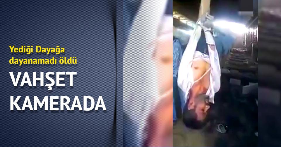 Patronu, hırsızlık yapan çalışanını döverek öldürdü