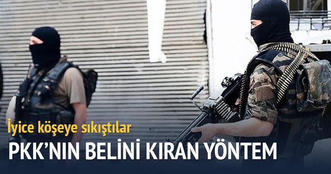 PKK'nın belini kıran yöntem: Köşeye sıkıştılar