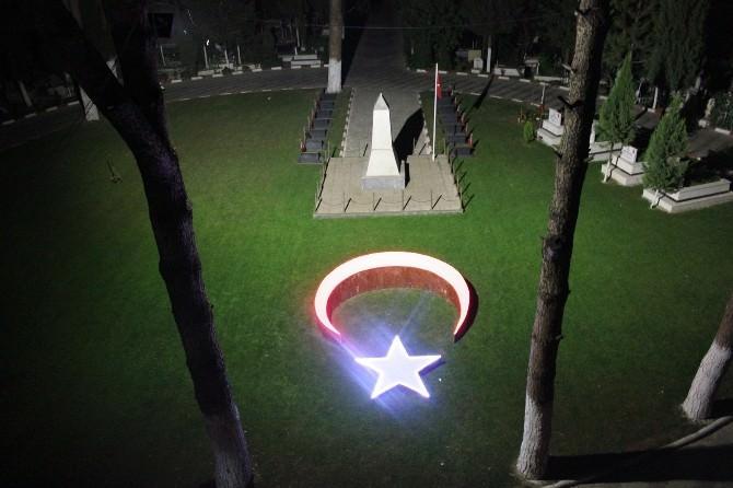 Ay-yıldız Çalışması Işıl Işıl Parladı