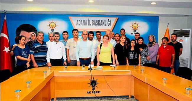Adana'da AK Parti'ye her gün katılım var