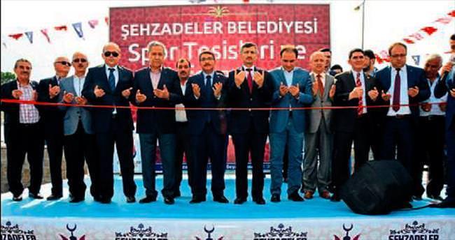 Arınç'tan Şehzadeler Belediyesi'ne övgü