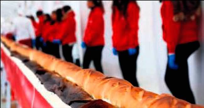 Dünyanın en uzun ekmeği