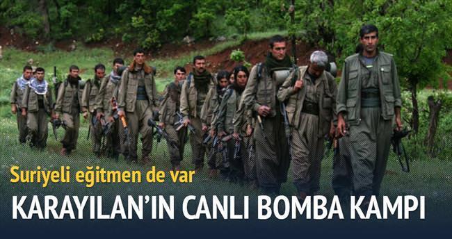 PKK elebaşısı Karayılan'ın canlı bomba kampı: Zilan