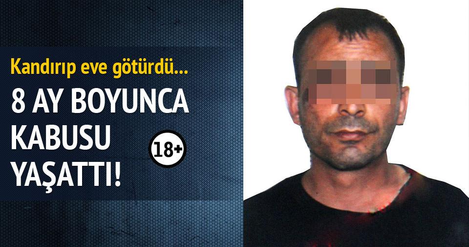 17 yaşındaki kıza fuhuş yaptırıp işkence etti!