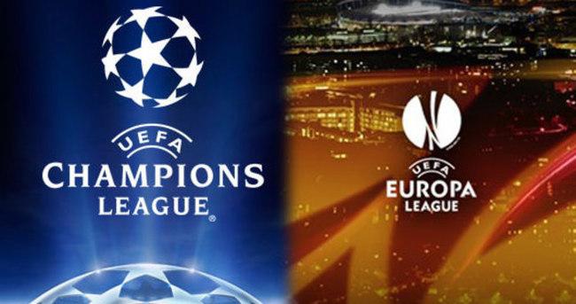 Şampiyonlar Ligi ve Avrupa Ligi maçları ne zaman hangi kanalda?