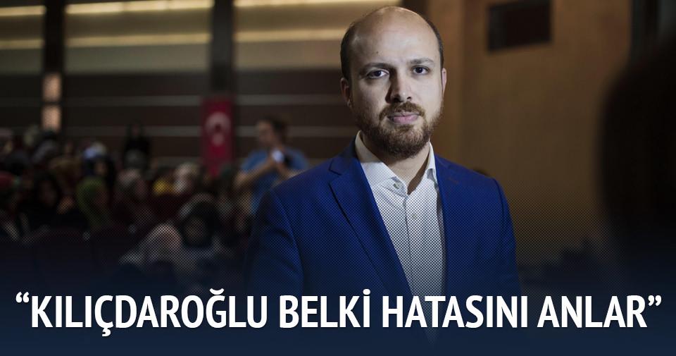 Bilal Erdoğan: Kılıçdaroğlu belki hata ettiğini anlar