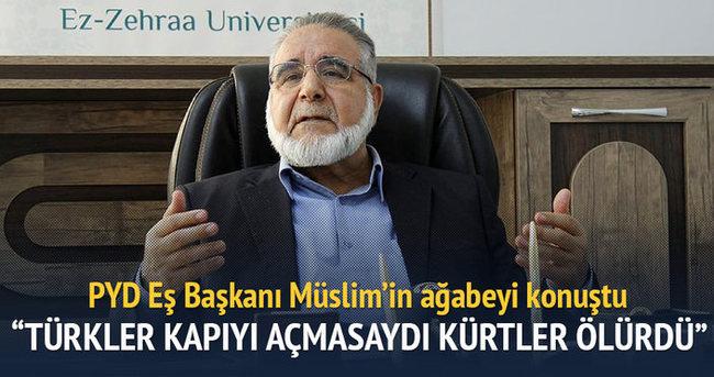 Türkler kapısını açmasaydı Kürtler ölürdü